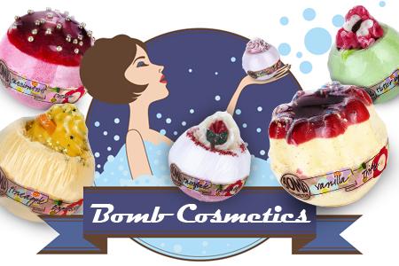Насладете се на изключителна вана с арома козметиката Bomb Cosmetics! И то на приемлива цена...