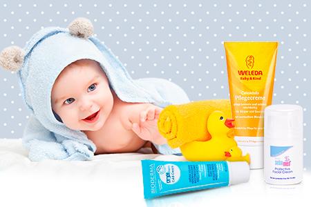 Кремове за чувствителна детска кожа, изпробвани за вас от майка Светла