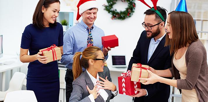Коледни подаръци от Дядо Коледа