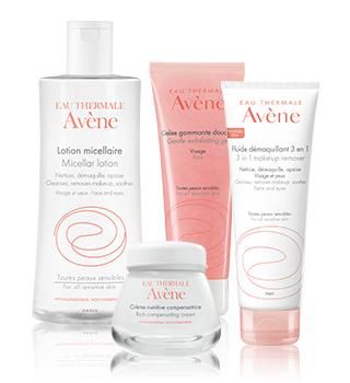 Основна грижа за чувствителна кожа Avène